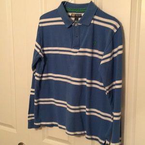 EUC, Long Sleeve Size L Duck Head Polo style Shirt